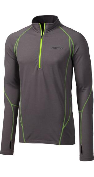 Marmot M's Verve LS 1/2 Zip Shirt Steel